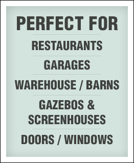 Durascreens motorized retractable screens are perfect for new construction or remodeling