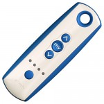 Somfy remote for DuraScreens automatic retractable screens.