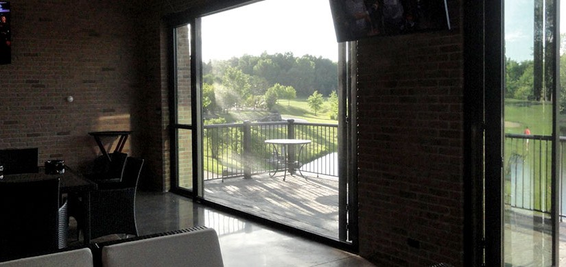 Retractable screens for garages doors and windows for Retractable windows and doors