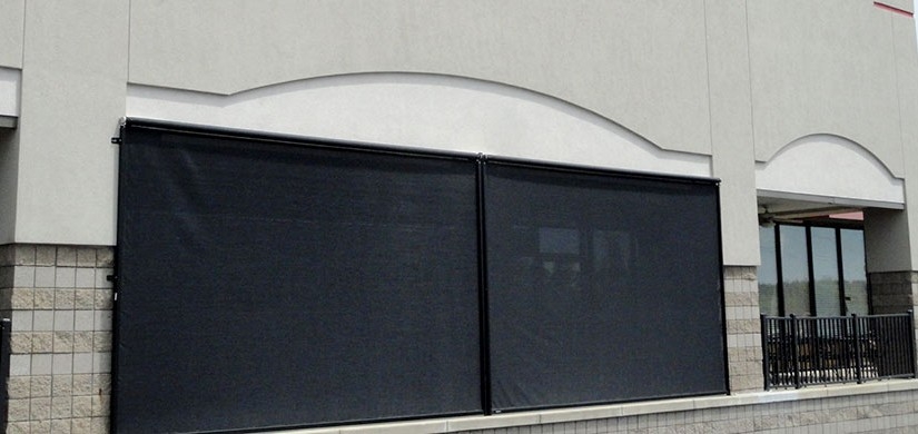 Retractable screens for garages doors and windows for Retractable screen solutions